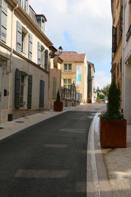 Inauguration de la rue Jean de La Fontaine
