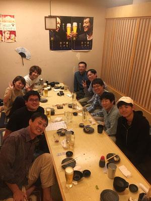 鈴木先生歓迎飲み会 Nov2019