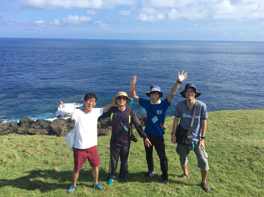 台湾緑島での国際野外実習 Jul2018