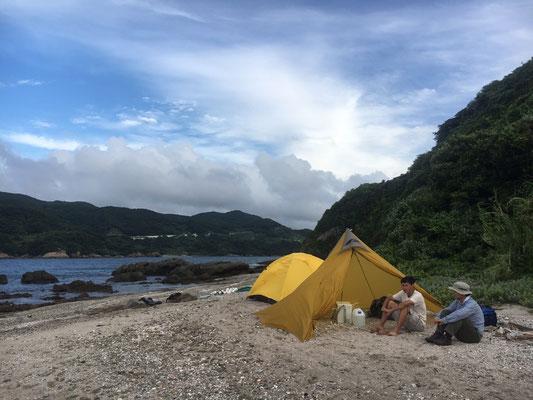 無人島調査での一幕 July2017