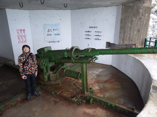 台湾南竿島でのヤモリ調査 Mar2017