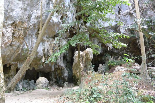 ラオス石灰岩洞窟 June2018