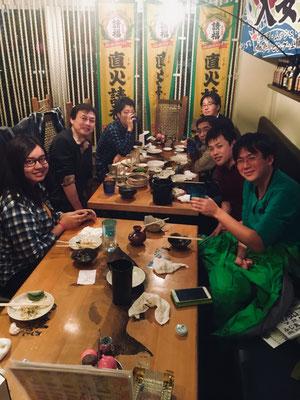 森研との飲み会 Feb2018