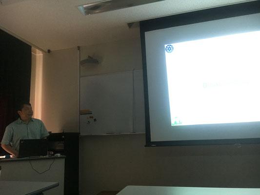 Tang教授によるスペシャルセミナー May2016