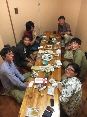 和智君歓迎会 Apr2018