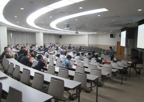 ハぺ学会沖縄大会の様子1 November2016