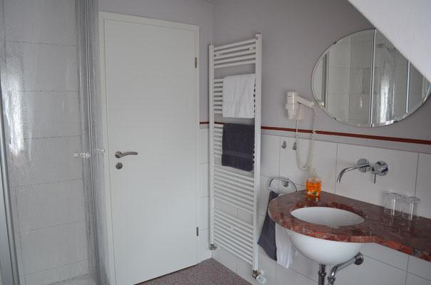 Unsere neuen Duschbäder, garantieren einen guten Start in den Tag