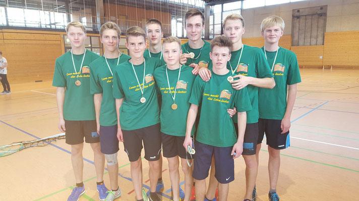 Platz 1 WK II m Gymnasium Olbernhau