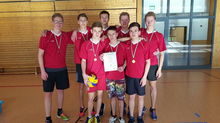 Platz 1 - WK II - Gymnasium Olbernhau