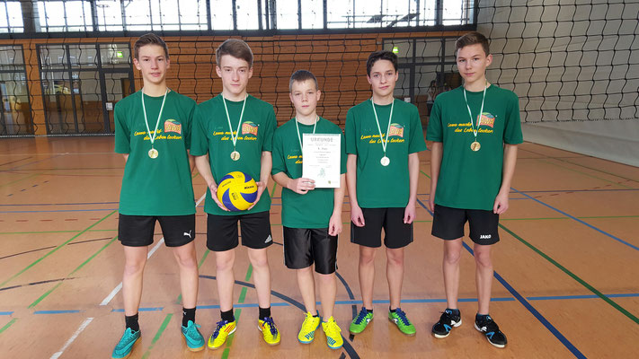 Platz 1 - WK III - Gymnasium Olbernhau