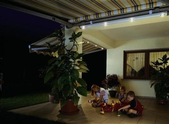 Lichtleiste für Markise