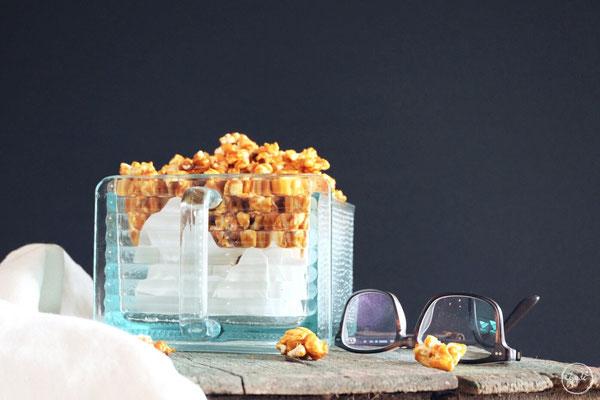 Salziges Karamell Popcorn