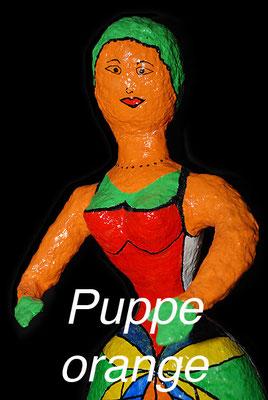 Puppe orange