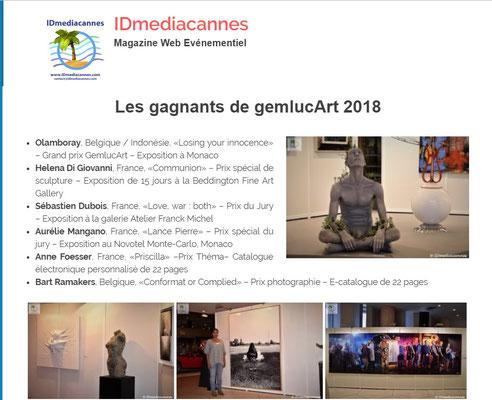 IDmediacannes - Les Gagnants - 19 octobre 2018