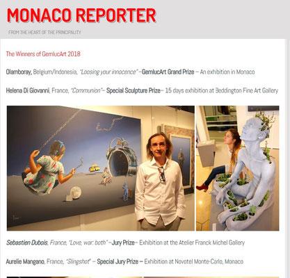 Monaco Reporter - 17 octobre 2018