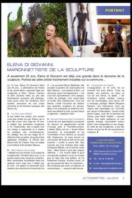 Le Tourrettan, bulletin municipal mensuel - juin 2018 - n°36