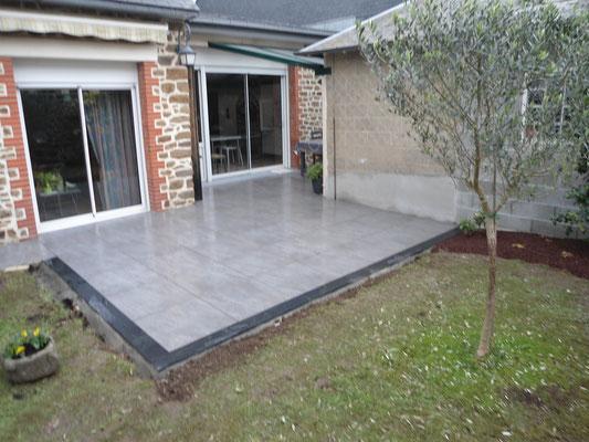Réf TSP Rénovation de terrasse: travaux finis