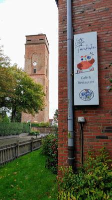 Blick auf den alten Leuchtturm