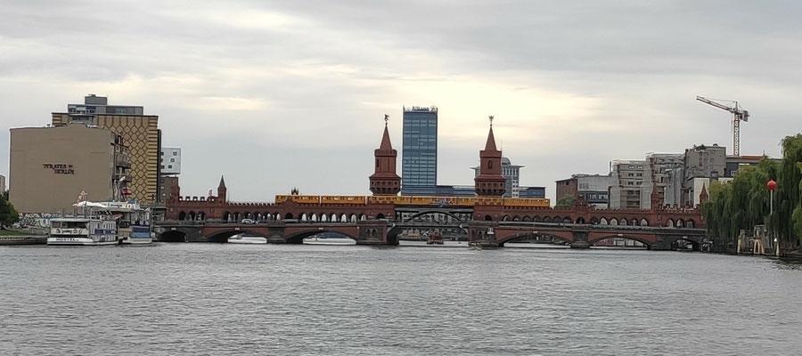 Berlin vom Wasser aus...