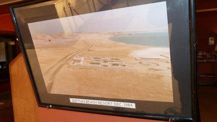 Luftaufnahme des Giftun Hotel zur Eröffnung 1984
