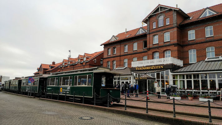 Inselbahn Borkum - Stadtbahnhof
