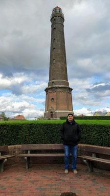 am neuen Leuchtturm