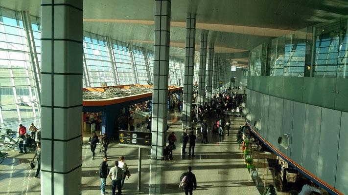 das neue Terminal in Hurghada 2019
