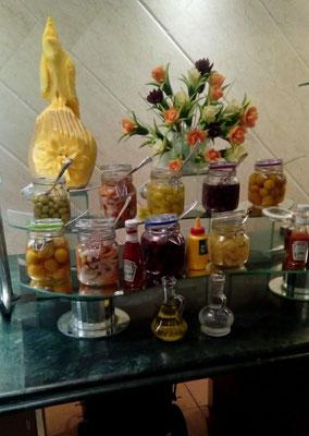 """am Buffet im """"Giftun Azur Resort"""" - 2019"""