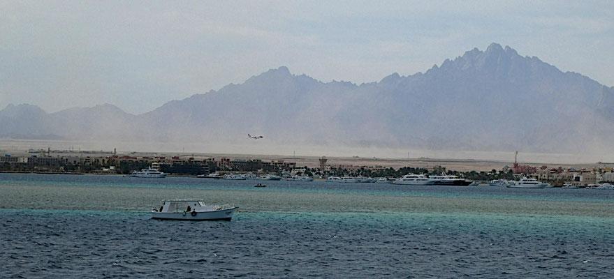 Blick auf Hurghada 2019