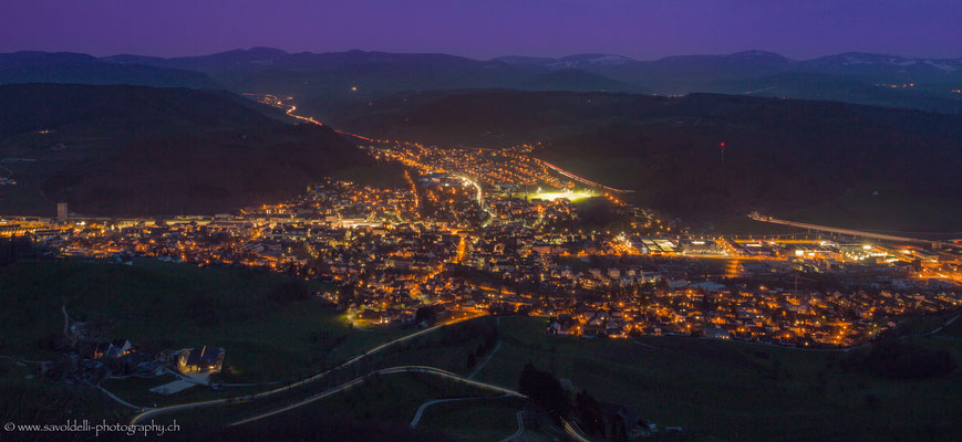 Sissach by night