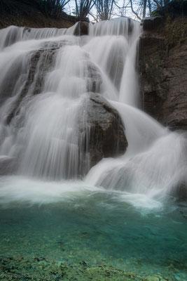 Starzel-Wasserfall, Schwäbische Alb