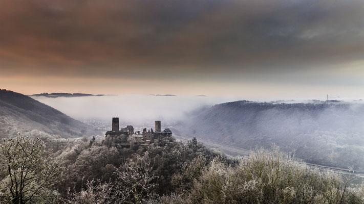 Bleidenberg mit Blick auf die Burg Turant