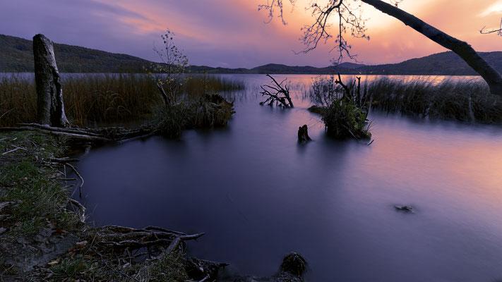 Sonnenuntergang Maria Laach III