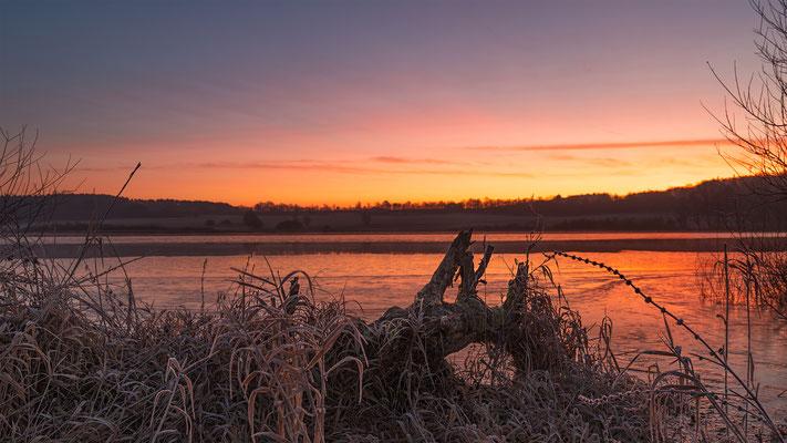 Sonnenaufgang Jungfernweiher Ulmen