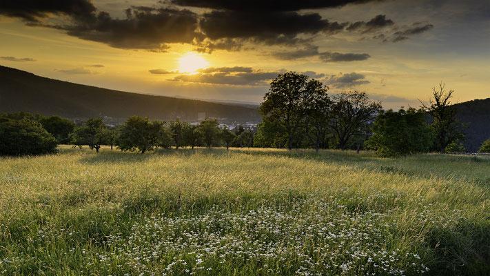 Sonnenuntergang über Lahnstein II