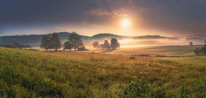 Herbstmorgen im Westerwald