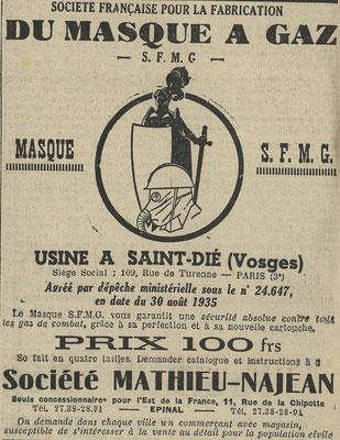 Journal l'Express de l'Est 27 décembre 1935