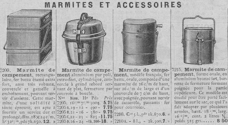 Catalogue 1914 de la Manufacture de St-Etienne
