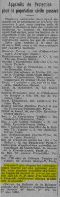 Journal de l'UNC de Rouen de juin 1938