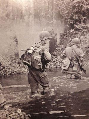 Eléments du 1/2 REI lors de l'opération Lorraine en novembre 1952 - Source ECPAD