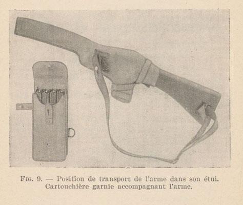 Extrait de la notice sur le PM 1938 de 1941 - source Galica
