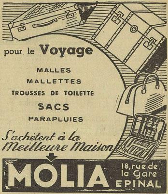 Journal l'Express de l'Est du 12 novembre 1939