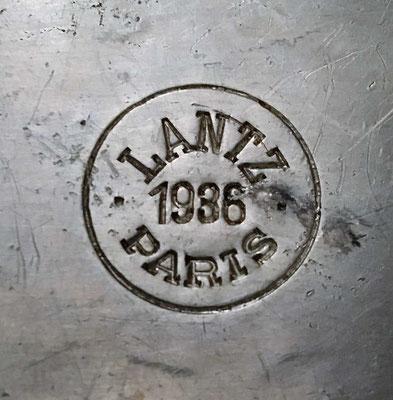 Gamelle modèle 1935 fabricant LANTZ