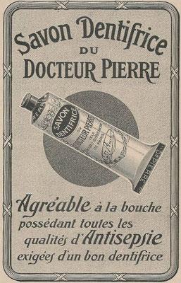 Publicité de 1914