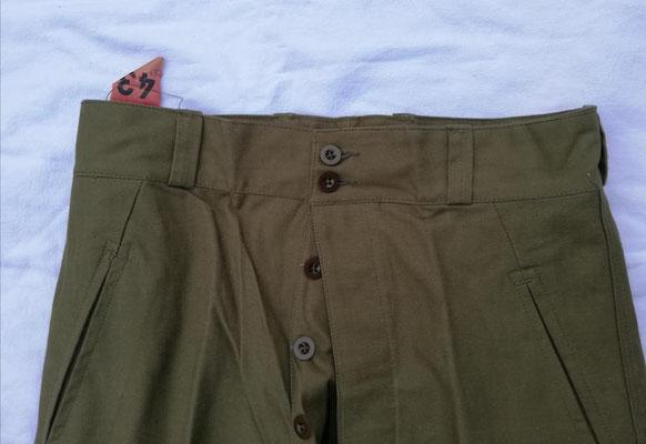 Pantalon 1947/53 - 2 boutons visibles