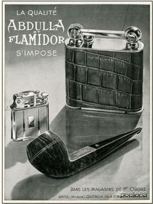 Publicité des années 1936/39