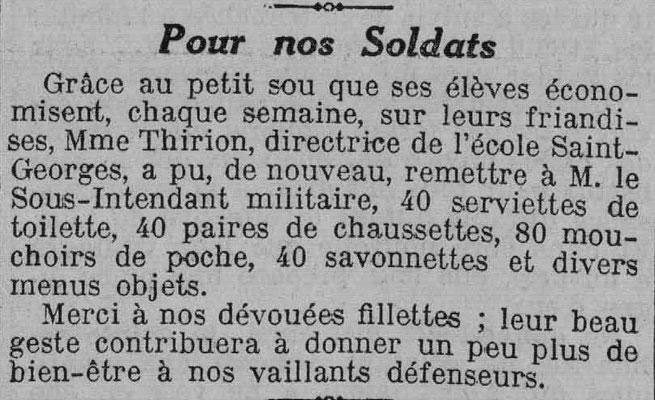 L'Est Républicain - 22 mai 1915