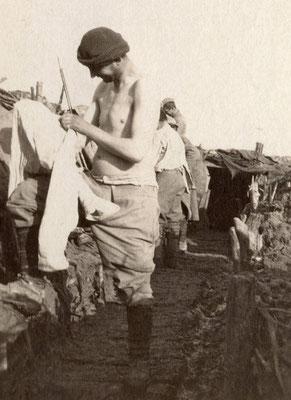 Janvier 1916, la chasse aux Totos (coll. Harter, tous droits réservés)