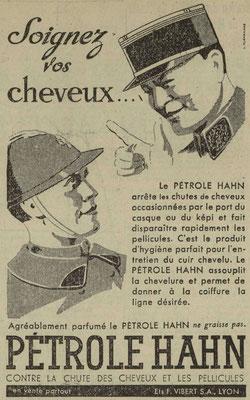 Pétrole Hahn  - journal l'Est Républicain du 5 février 1940