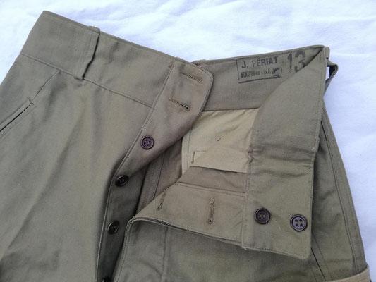 Pantalon 1947/50 - 2 boutons cachés